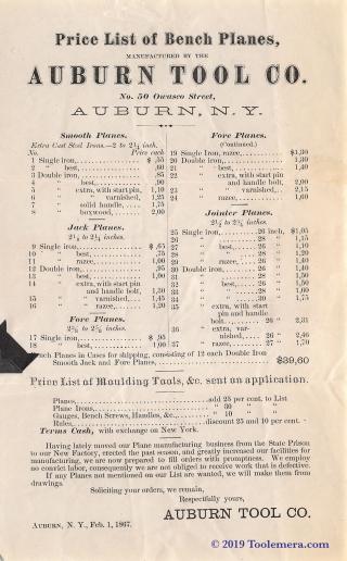 1867AuburnToolCo.PriceList