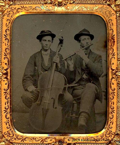 BrothersMusiciansTinType